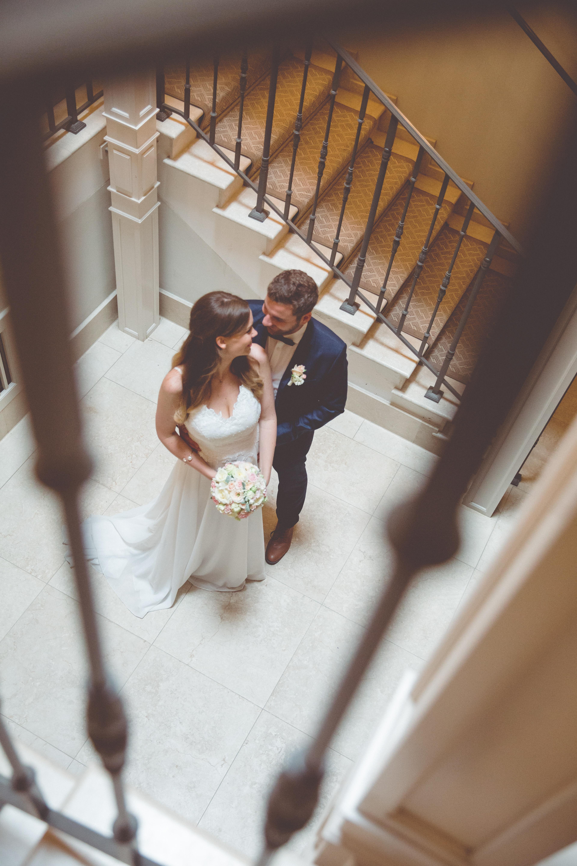 Brautpaarfoto aufgenommen im Grand Hotel Heiligendamm.