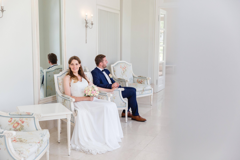Brautpaarfotoshooting im Grand Hotel Heiligendamm.
