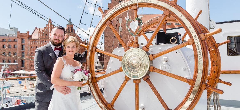 Heiraten in Stralsund.