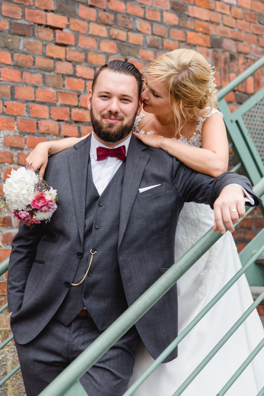 Hochzeitsfotografie aufgenommen von der Fotografin aus Stralsund.
