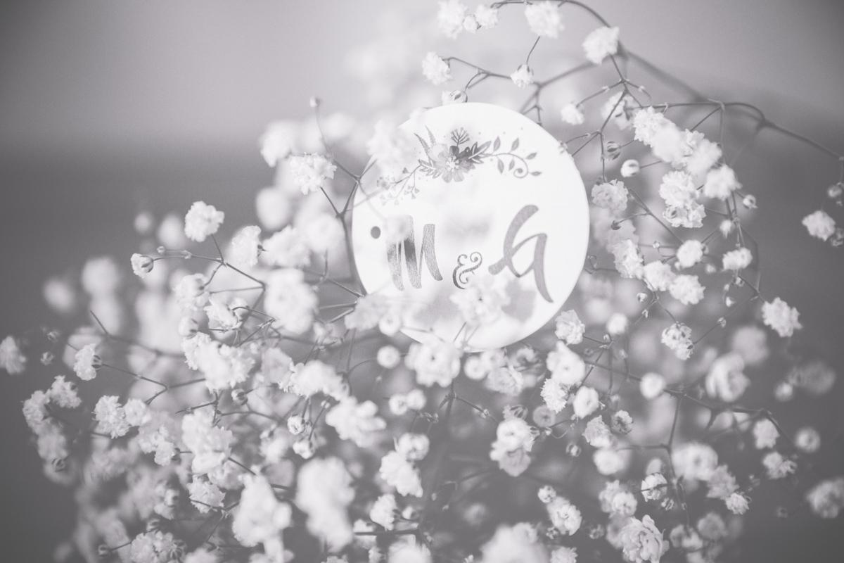 Detailfotografie Hochzeit.