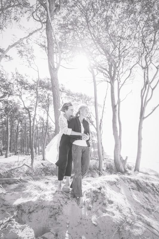Das Glück zweier Frauen fotografiert von der Hochzeitsfotografin.