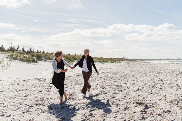 Franziska und Heike´s Hochzeit in Ahrenshoop