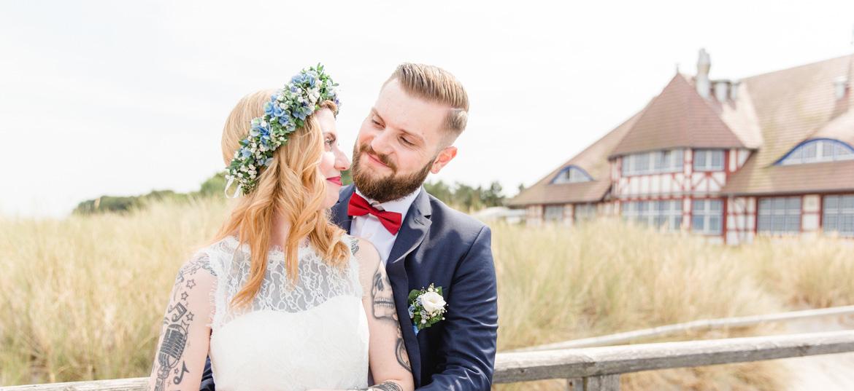 Hochzeitsfotografin für Trauung in Zingst.