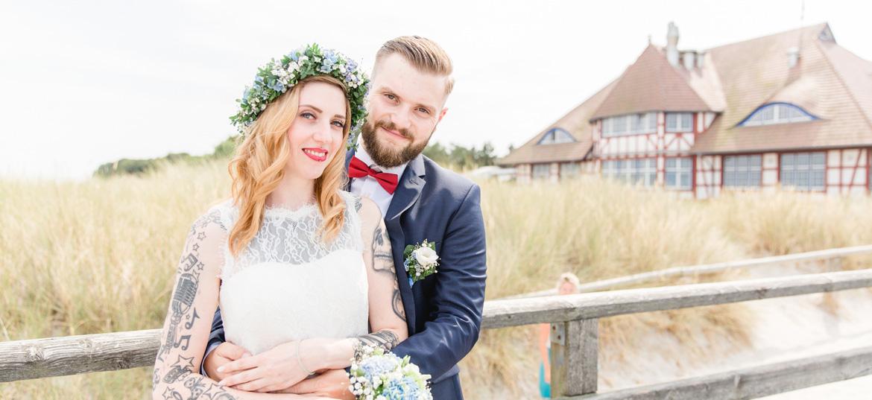 Heiraten im Kurhaus in Zingst.