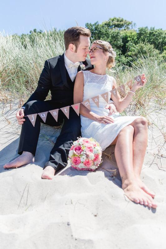 Hochzeit an der Ostsee.
