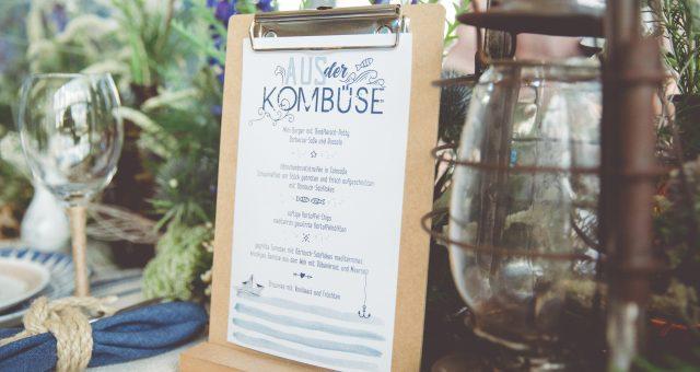 Maritime, trendige Hochzeitsinspiration aus Warnemünde
