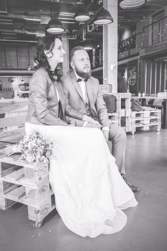 Heiraten im Containerhotel in Warnemünde.