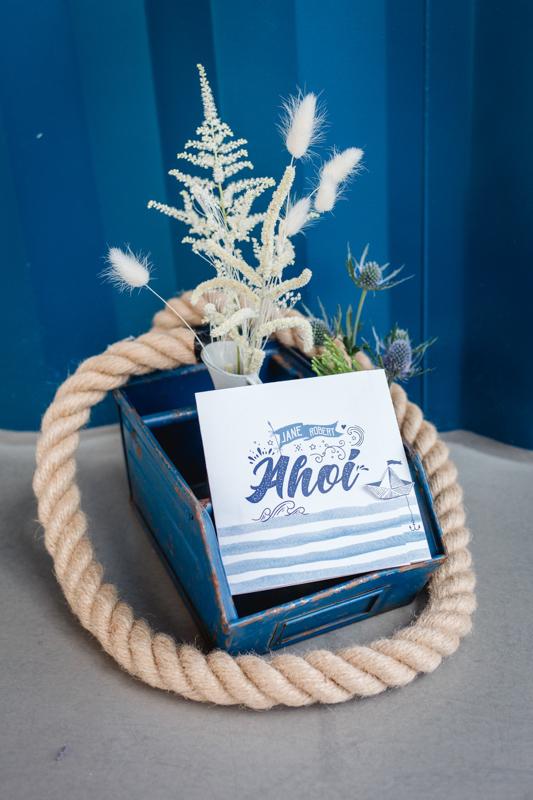 maritime Hochzeitskarten
