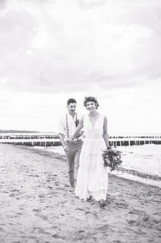 Heiraten am Strand.