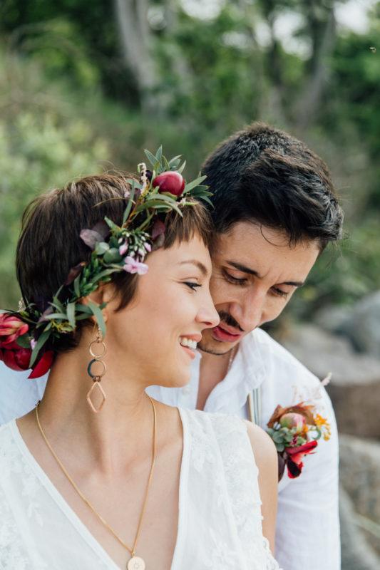 Boho-Hochzeit an der Ostsee.