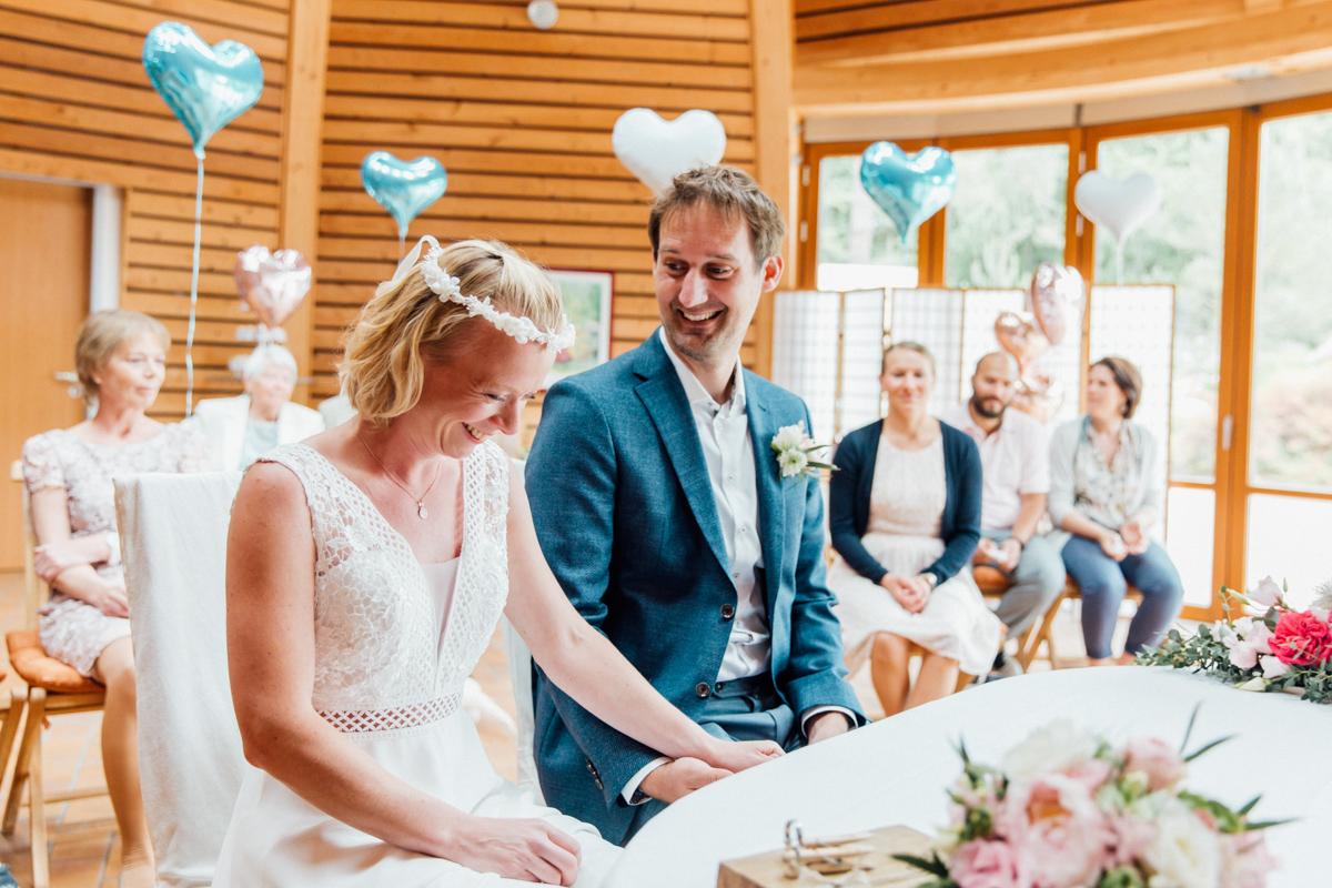 Heiraten im Pavillon in Graal-Müritz.