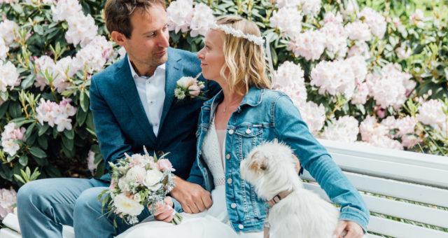 Heiraten mit Hund - an der Ostsee