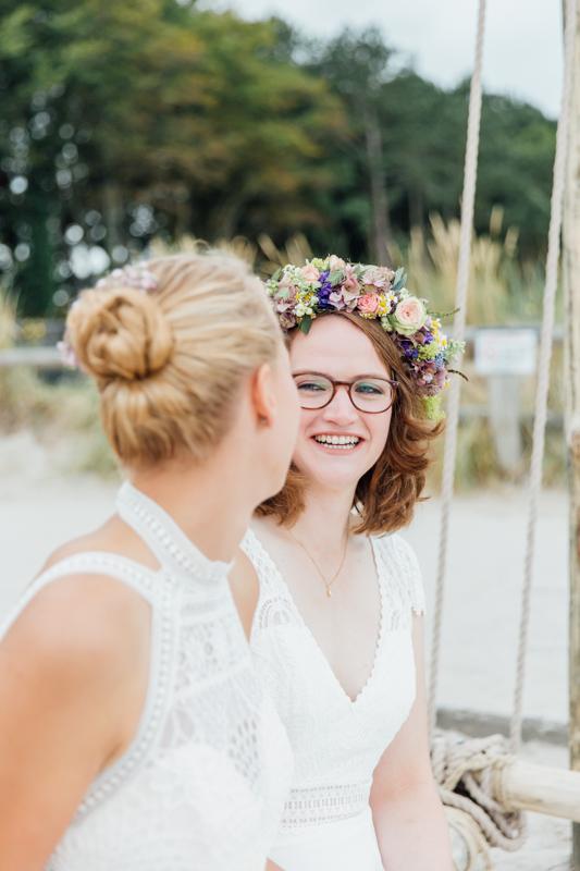 Weddingphotos two brides.