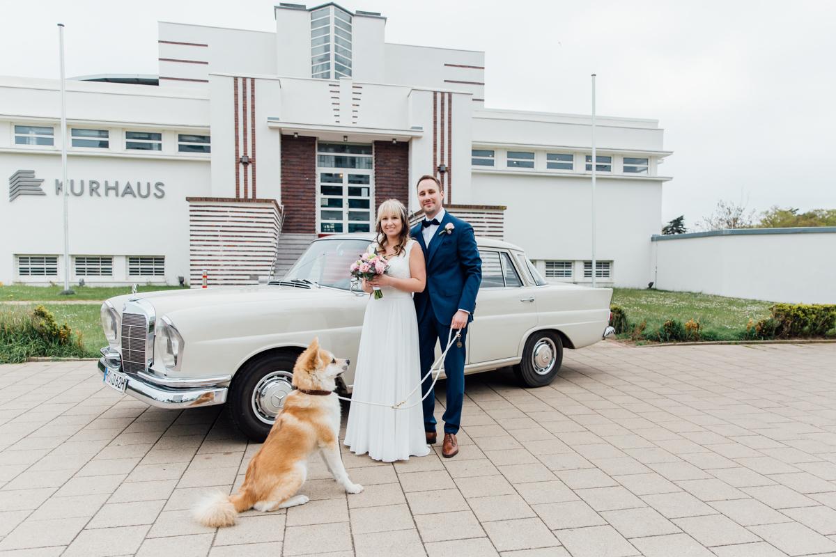 Heiraten im Kurhaus in Warnemünde.
